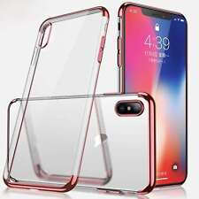 Funda Para Apple IPHONE 8 Plus XS Max Antichoque Ultra Slim Parachoques TPU