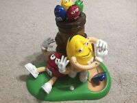 M&M's Golfing Novelty Candy Chocolate Dispenser m&m mm's H26cm L28cm