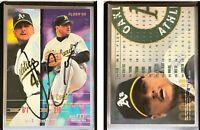 Jim Corsi Signed 1995 Fleer Update #70 Card Oakland Athletics Auto Autograph