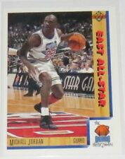 1991/92 Michael Jordan Bulls NBA Upper Deck Orlando East All-Star Card #452 NM
