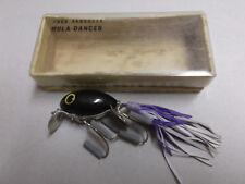 Older USA Made Fred Arbogast Hula Diver,1/4oz.Black