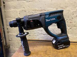 Makita DHR202 18V Li-ion Cordless SDS Plus Rotary Hammer Drill And 5.0ah Battery
