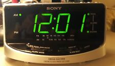 Sony Dream Machine FM/AM Alarm Clock Radio  ICF-C492