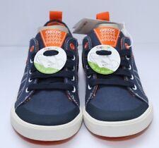 GEOX J Kilwi B. E J82A7E Boys Sneakers Navy/Orange UK 13 EU 32 CH03 05