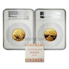 China 2012 Singapore International Coin Fair Panda 5 oz Gold NGC PF69 with COA