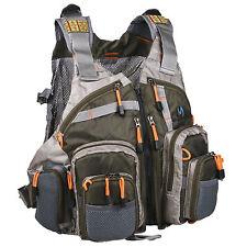 Outdoor Multi-pocket Fly Fishing Backpack Chest Mesh Bag Vest Size Adjustable