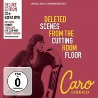 CARO EMERALD - DELETED SCENES FROM THE CUTTING ROOM FLOOR(DELUXE)  CD + DVD NEW!