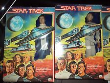 "Star Trek 12""  Mr. Spock, Capt. Kirk, Arcturian  Vintage 1979 MEGO MIB"