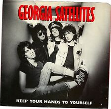 GEORGIA SATELLITES, THE  (Keep Your Hands To Youself)  PICTURE SLEEVE ONLY!!!