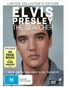Elvis Presley - The Searcher - Limited Collectors Edition Digibook DVD