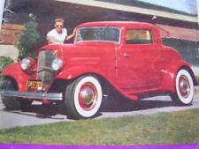 Honk Custom Car Mag May 1953 Vol 1 No 1 1932 Ford 3 Window Coupe w/ Flathead V8