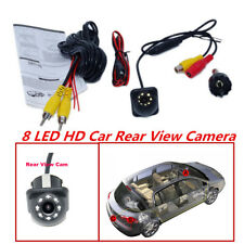 8 LED HD CCD Car Rearview Backup Camera Night Vision For Parking Monitor Camera