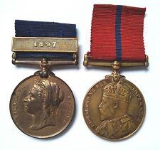 More details for metropolitan police jubilee medal pair h division whitechapel ripper murders