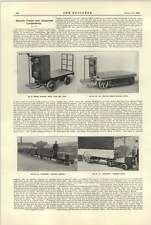 1921 Automatic Electric Tractor Edison Electric Truck