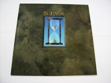 STYX - EDGE OF THE CENTURY - LP VINYL 1990 HOLLAND PRESS - EXCELLENT CONDITION