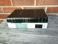 Nob! Kjv Large Print Personal Size Reference Bible Black Bond Leather Rl Edition