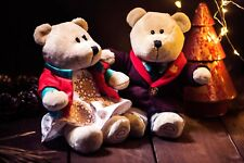 Starbucks Christmas Holiday 2017 Winter Bearista Bears Boy And Girl