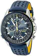 NWT Citizen Men's AT8020-03L Blue Angels World A-T Eco-Drive Watch