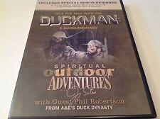 Duckman Phil Robertson A Documentary Duck Dynasty Adventure Outdoors DVD NEW