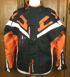 KTM POWERWEAR RLP Motorcycle Racing Jacket Mens L Orange Black MISSING ARMOR