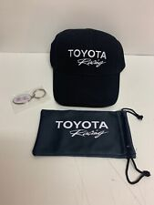 Toyota Racing Adjustable black Hat Key Chain Sunglasses Cloth Case Free Sh