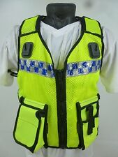 ISPL Hi Vis Waistcoat Tactical Vest Equipment Carrier Ex Police G6 (NG3)