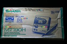 SHARP MD MT190 MINIDISC RECORDER PLAYER WITH MICROPHONE...