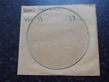 """4/"""" Remplacement Horloge verre plat biseauté sol Edge new old stock"""