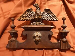 Eagle Only- *TOPPER NOT INCLUDED* - Vienna Regulator-Antique Clock -NEW.