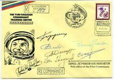 1995 Yuri Gagarin Cosmonaut Training Centre RECCOMANDE COIO3 TM-21 SIGNED SPACE