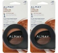 Almay Intense i-Color All Day Wear Powder Eye Shadow, 145 Browns, Lot of 2!