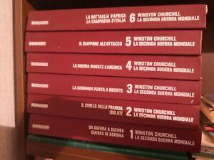Winston Churchill LA SECONDA GUERRA MONDIALE 8 volumi Mondadori