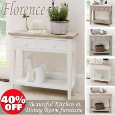 60cm-80cm Height Console Tables with Drawers