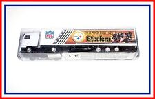 HO Scale _ Pittsburgh Steelers _ VOLVO (white v11) _ Tractor Trailer