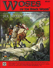 WOSES OF THE BLACK WOOD VF! #8107 MERP Middle-Earth Adventure Module Tolkien