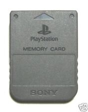PS1 MEMORY CARD PLAYSTATION 1MB BRAND NEW BOX STICKERS OFFICIAL SONY PSX PS2 PS