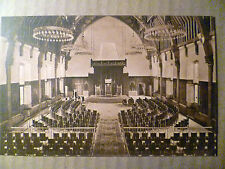 Den Haag Ridderzaal (Inside picture), Netherlands: Vintage Postcard- Gvh 535