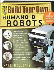 Book, Build Your Own Humanoid Robots, FREEUKPOST