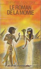 Livre Poche le roman de la momie Théophile Gautier book