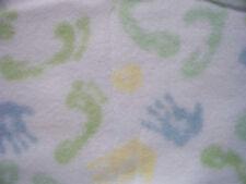 BABY BLANKET FEET & HANDS NORDIC FLEECE BLANKET