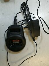 - MOTOROLA CLS RADIO CHARGER HCTN4001A WITH ADAPTER FOR  CLS1413