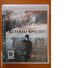 PS3 VAMPIRE RAIN ALTERED SPECIES - CASTELLANO - COMPLETO - PLAYSTATION 3 (5O)