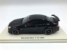 Mercedes C63 AMG 2014 Black 1:43 Spark S1079