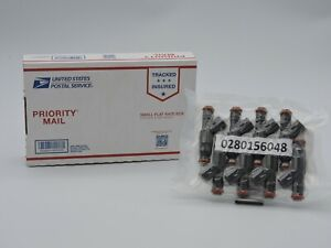 0280156048 (SET - 8) Fuel Injectors OEM BOSCH FORD LINCOLN MERCURY 4.6L V8 01-02