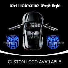 TRANSFORMERS AUTOBOT Logo Car Door Cree LED Projector Laser Ghost Shadow Light