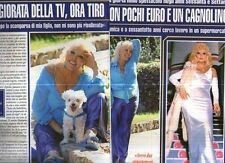 Ga42 Ritaglio Clipping del 2012 Isabella Biagini Ero la maggiorata della tv..
