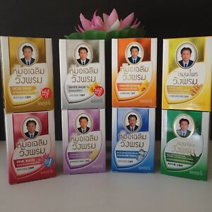 100% Baume Wangphrom Original Thai Massage Balm Soulage les douleurs musculaires