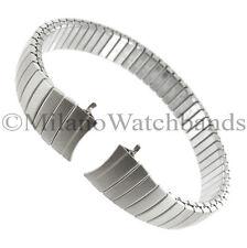 9mm Speidel Curved Matte Stainless Steel Ladies Watch Band Buy1 Get 2 Free!