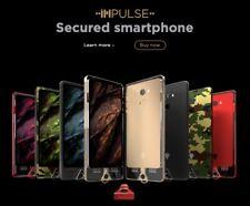 K1 Impulse - Blockchain EncryptingSmartphone, Carbon Black, Neu und Original