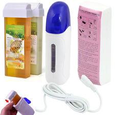 Depilatory Roll On Wax Heater Roller Warmer Cartridge Strips Hair Removal Kit US